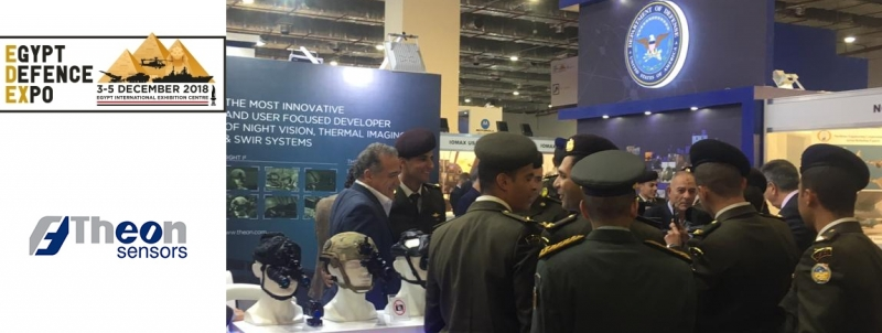 THEON PARTICIPATED AT EDEX 2018