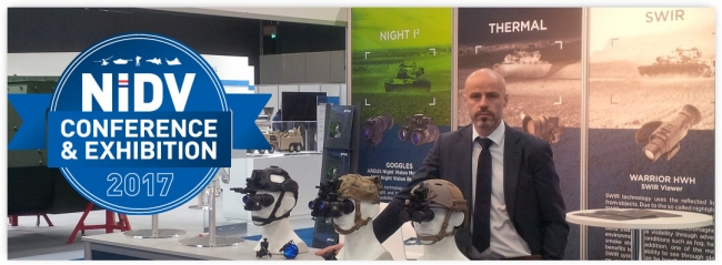 THEON SENSORS EXHIBITED AT NIDV 2017