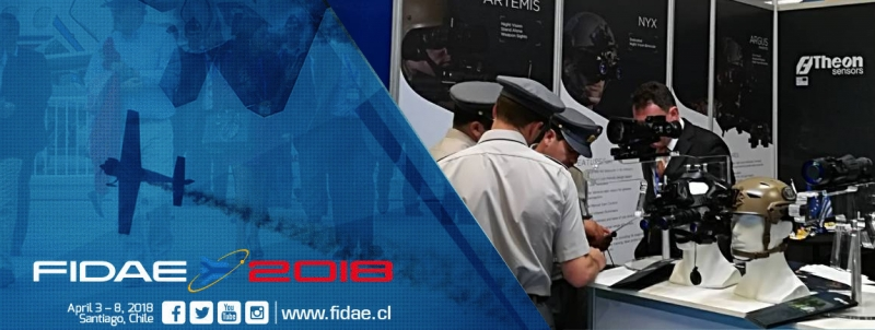 THEON SENSORS EXHIBITED AT FIDAE