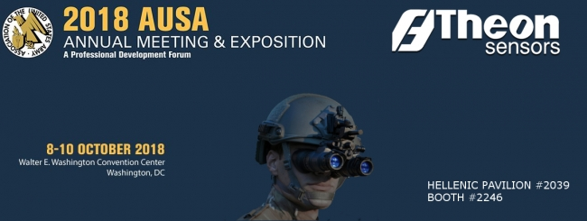THEON SENSORS AT AUSA 2018